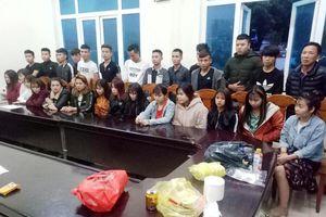 Thanh Hóa: Phát hiện 27 'nam thanh nữ tú' có mặt trong bữa tiệc ma túy tại phòng karaoke