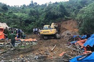 Sa hố bùn thải khi đi mót quặng, người phụ nữ tử vong
