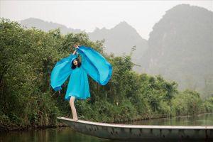 Quán quân Next Top - Mai Giang gây sốt với bộ ảnh mới giữa thiên nhiên