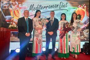 Hoa hậu Ngọc Hân là Đại sứ chương trình 'True Italian Taste - Chế độ ăn Địa Trung Hải'