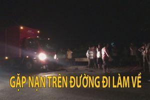 Xe tải đâm xe máy, một nam thanh niên chết tại chỗ