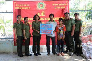 Công an TP Cần Thơ tổ chức Lễ khởi công xây dựng nhà 'Mái ấm tình thương'