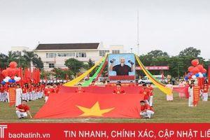 Hơn 200 vận động viên tham gia Hội thao Agribank Hà Tĩnh II