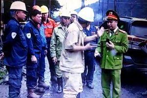 Hàng trăm công nhân than Quảng Ninh xô xát, rút súng thị uy ngay trước mặt công an