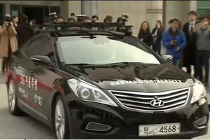 Phát triển xe không người lái 5G ở Hàn Quốc