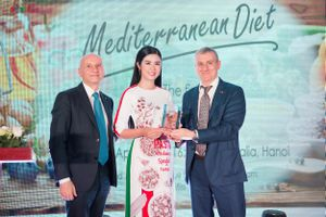 Hoa hậu Ngọc Hân làm đại sứ ẩm thực Italy tại Việt Nam