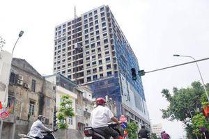 Đề xuất phương án giữ nguyên hiện trạng tòa nhà 8B Lê Trực