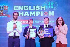 Chung kết cuộc thi English Champion 2019 cho các thế hệ iGen thể hiện bản lĩnh