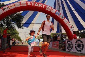 Hơn 900 vận động viên đa quốc gia chạy vì trẻ em