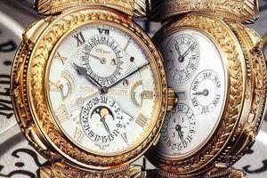 17 siêu phẩm đồng hồ Patek Philippe có giá bán từ 40 tỷ đồng trở lên
