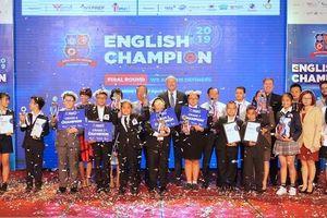Tìm ra các quán quân tiếng Anh English Champion 2019