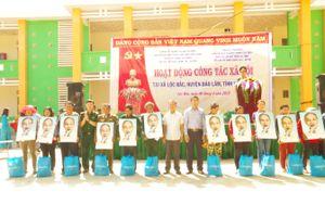 Hơn 2 tỷ đồng hỗ trợ các hộ dân nghèo xã Lộc Bắc