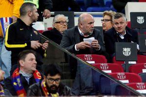 HLV Solskjaer lặn lội sang tận Tây Ban Nha để xem Barcelona thi đấu