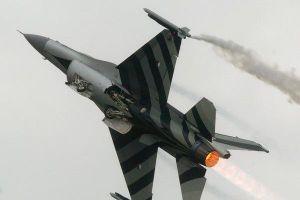 Tiêm kích F-16 gặp nạn hy hữu, tự nã đại bác trúng thân