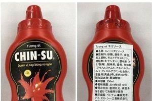 Tương ớt Chinsu bị thu hồi tại Nhật: Bộ Y tế lên tiếng