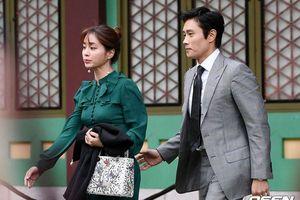 Vợ chồng Lee Min Jung - Lee Byung Hyun cùng Sandara Park (2NE1) đổ bộ đám cưới Lee Jung Hyun