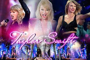 Mắc kẹt trên không trung, vồ ếch, sự cố âm thanh,… 1001 chuyện trời ơi và cách xử lý duyên dáng của Taylor Swift