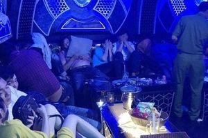 Bắt quả tang gần 100 'dân chơi' dương tính với ma túy trong quán karaoke