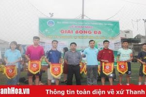Khai mạc giải bóng đá Sinh viên Thanh Hóa mở rộng lần thứ VI năm 2019 tại TP Vinh