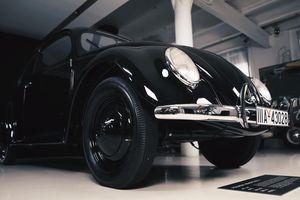Đây là chiếc Volkswagen duy nhất còn lại do huyền thoại Ferdinand Porsche thiết kế