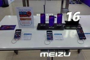 Lộ diện mặt sau điện thoại Meizu 16s trắng như mây