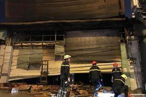 Cháy lớn tại showroom điện máy gây thiệt hại hàng tỷ đồng ở Sài Gòn