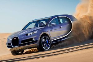 Sau siêu xe 18 triệu USD, Bugatti sẽ sản xuất siêu crossover?
