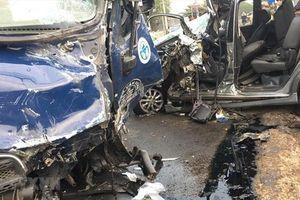 Đồng Nai: Lại xảy ra tai nạn đối đầu xe ô tô và xe tải trên quốc lộ 20
