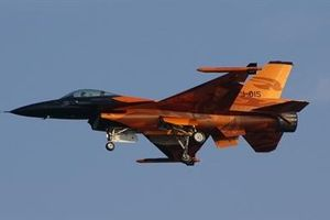Vì sao F-16 Hà Lan bị trúng đạn pháo của...chính mình?