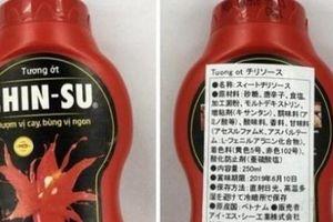 Sự thật chất Acid benzoic trong tương ớt Chinsu bị thu hồi ở Nhật