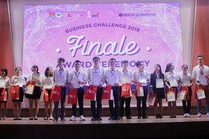 Viện Đào tạo quốc tế công bố 4 thí sinh xuất sắc nhất Cuộc thi 'Chiến lược kinh doanh 2019'