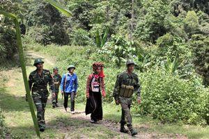 Quân dân chung tay bảo vệ rừng biên giới