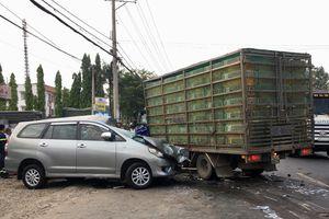 Lại thêm một vụ tai nạn đối đầu giữa hai xe trên quốc lộ 20