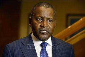 Tỷ phú giàu nhất châu Phi đầu tư hàng trăm triệu USD vào Zimbabwe