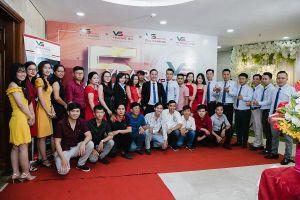 Tập Đoàn Vsetgroup chúc mừng 5 năm thành lập