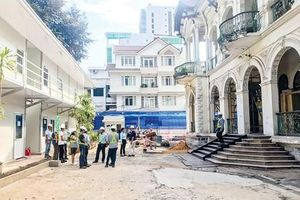 Restoration of the nearly 100 years old mansion