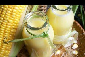 Mách bạn cách làm sữa ngô thanh mát ngày hè