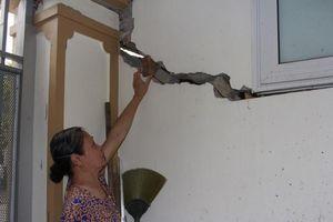 Gần 100 nhà liền kề ở KĐT Văn Phú bị sụt lún, nứt nhà, có nguy cơ đổ sụp
