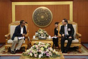 Thứ trưởng Lê Công Thành làm việc với Giám đốc WWF khu vực Châu Á – Thái Bình Dương