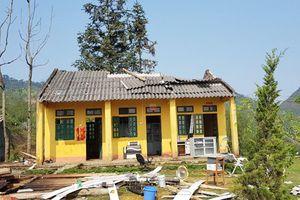 Lào Cai: Hơn 70 nhà bị tốc mái do dông lốc và mưa đá
