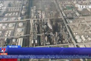 Nổ nhà máy hóa chất tại Đài Loan (Trung Quốc)
