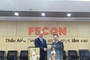 FECON hợp tác chiến lược toàn diện với Tập đoàn Raito Kogyo (Nhật Bản)