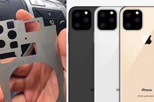 Lộ hình ảnh iPhone 2019 với chùm 4 camera?