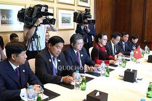 Chủ tịch Quốc hội Nguyễn Thị Kim Ngân hội kiến Chủ tịch Hạ viện Kazakhstan Nurlan nigmatulin