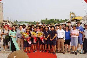 Quảng Trị đón đoàn khách quốc tế đầu tiên trong năm 2019 bằng đường biển