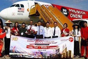 AirAsia mở đường bay Cần Thơ – Kuala Lumpur