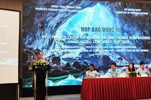 Vừa phát hiện một hệ thống hang ngầm tại Hang Sơn Đoòng