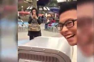 Khi thùng rác biết thả thính ở Trung Quốc
