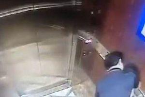 Vụ 'nựng' bé gái trong thang máy: Cần khởi tố vụ án