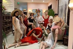 'Cười vỡ bụng' với bữa tiệc mặc đầm ngủ sexy của hội nam nhân
